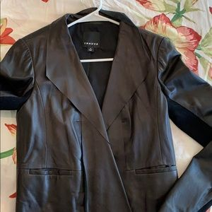 Trouve soft Leather coat or blazer 100%leather
